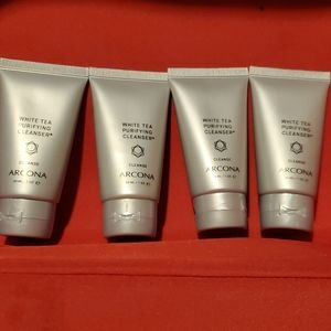 NEW 4× Arcona White Tea Purifying Cleanser Travel